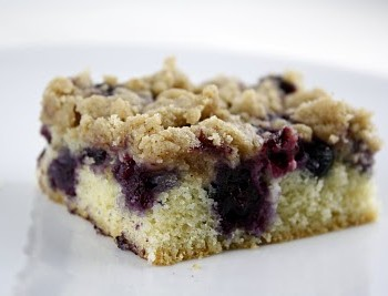 Blueberry (Black Raspberry) Crumb Cake
