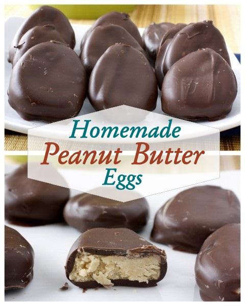 Homemade Peanut Butter Eggs | What Megan's Making