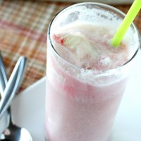 Raspberry Ice Cream Sodas