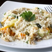 Cheesy Vegetable Rice Pilaf