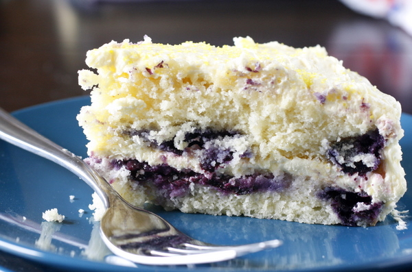 Lemon Blueberry Layer Cake What Megans Making
