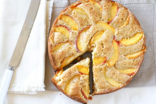 Summer Peach Cake