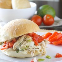 Shredded Chicken Sandwiches