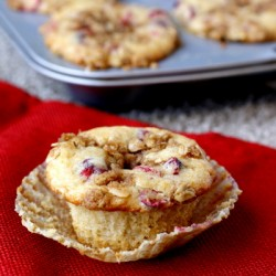 Cranberry Streusel Muffins