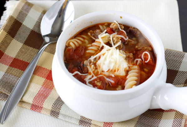 Lasagna Soup