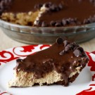 Chocolate Topped Peanut Butter Pie