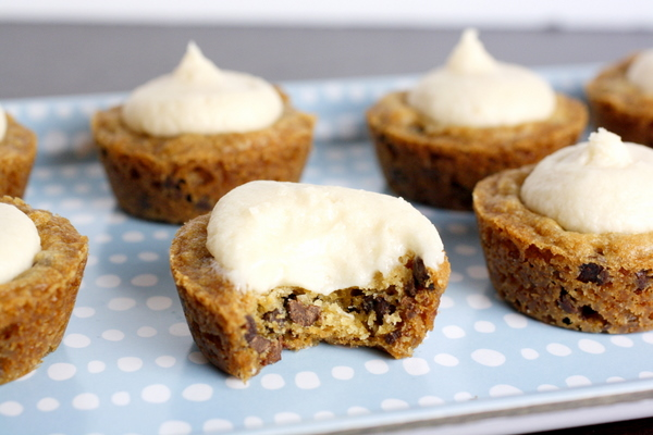 Frosted Cookie Cups