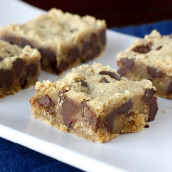 Chewy Peanut Butter Brownies