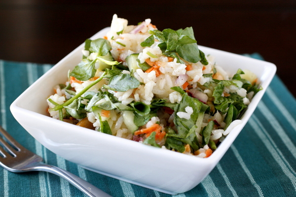 Herbed Lemon Rice Salad