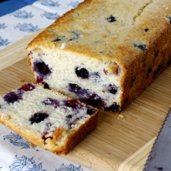Blueberry Buttermilk Bread