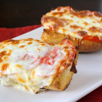 Cheesy Tomato Bread