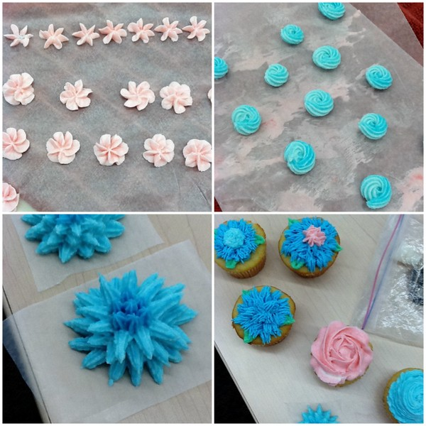 Wilton Cake Decorating Making Flowers : My Thoughts on the Wilton Cake Decorating Class What ...