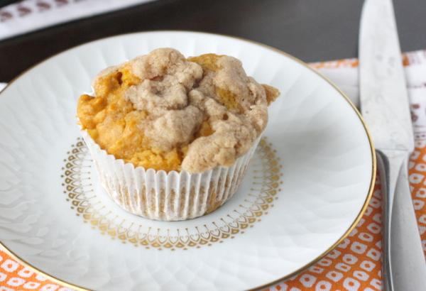 What Megan's Making » Pumpkin Apple Streusel Muffins » Print
