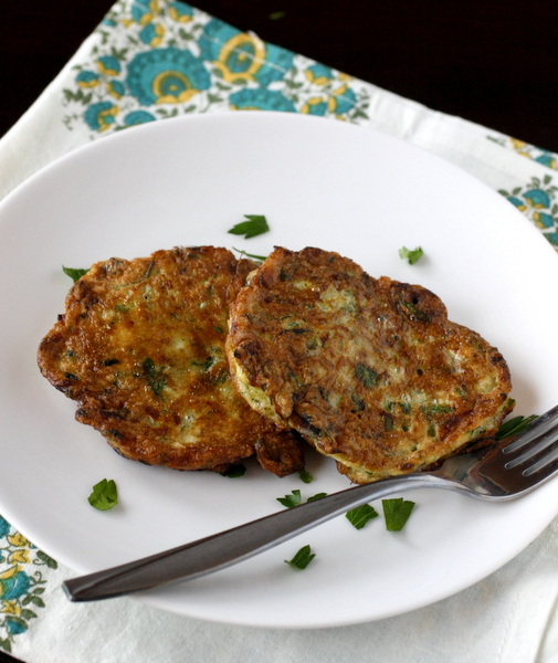 Zucchini Fritters