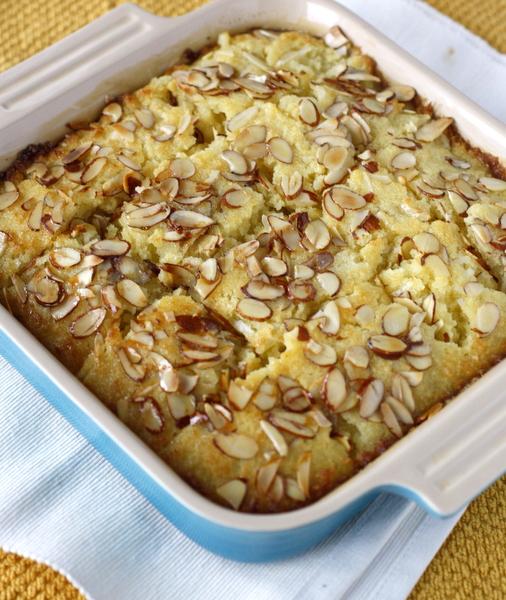 Coconut Semolina Cake