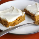 Harvest Time Pumpkin Bars