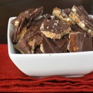 Salted Caramel Pretzel Bark