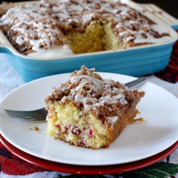 Cranberry Orange Coffee Cake