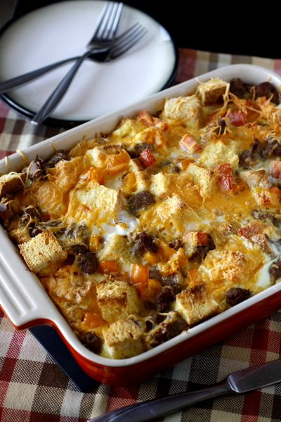 Egg and Sausage Casserole