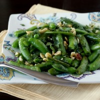 Chili-Lime Snap Peas
