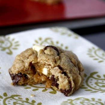 Brown Butter Oatmeal Chocolate Chip Cookies