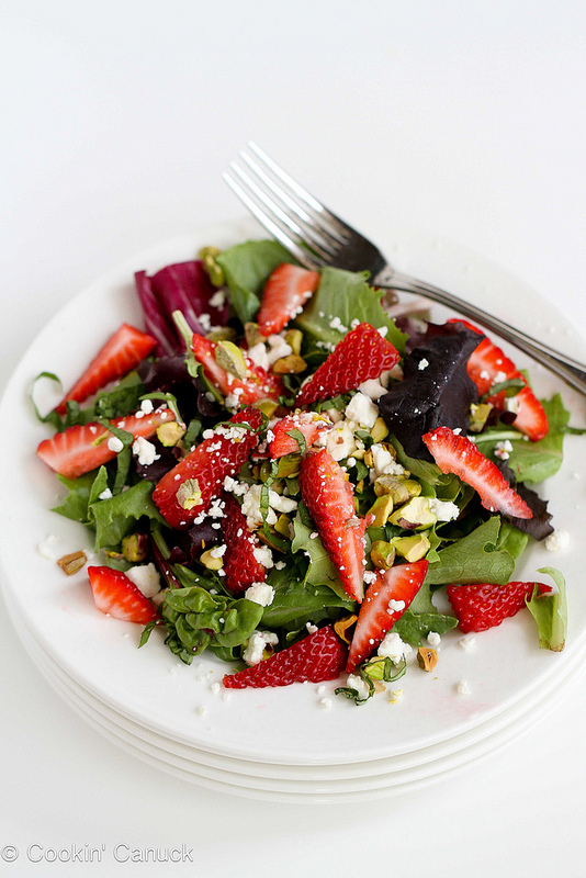 strawberry pistachio salad