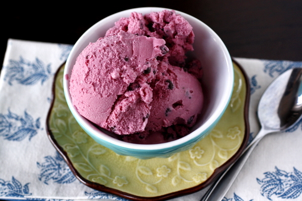 Blackberry Chip Ice Cream