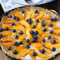 Fresh Peach Tart