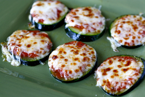 Zucchini Pizza Bites | What Megan's Making