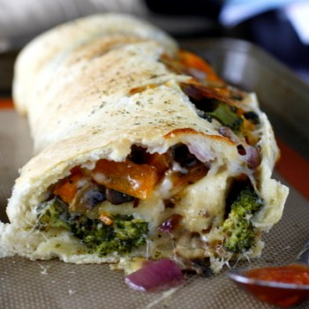 Roasted Vegetable Stromboli