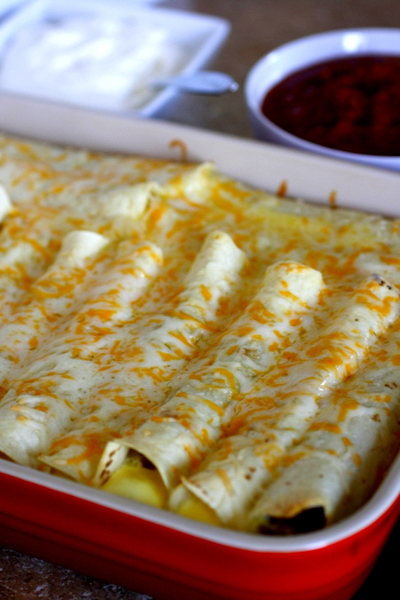 Brunch Enchiladas Recipe — Dishmaps