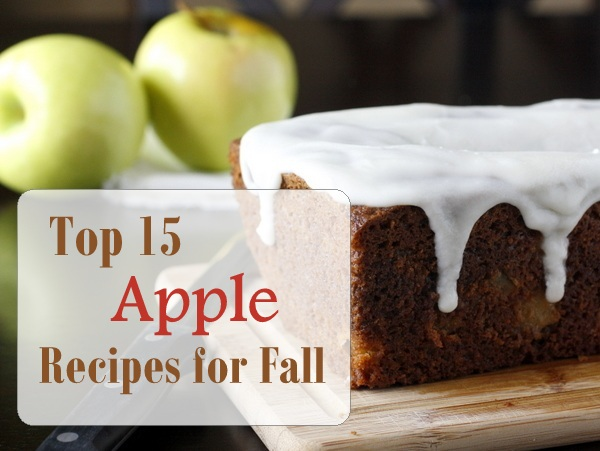 Top 15 Apple Recipes for Fall