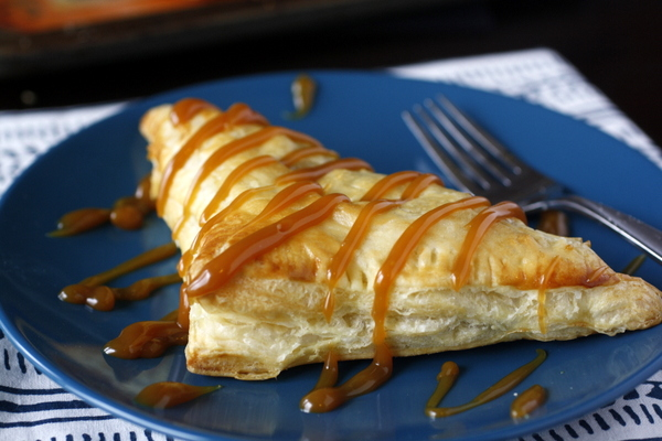 Easy Caramel Apple Turnover