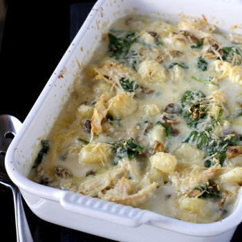 Baked Gnocchi with Chicken