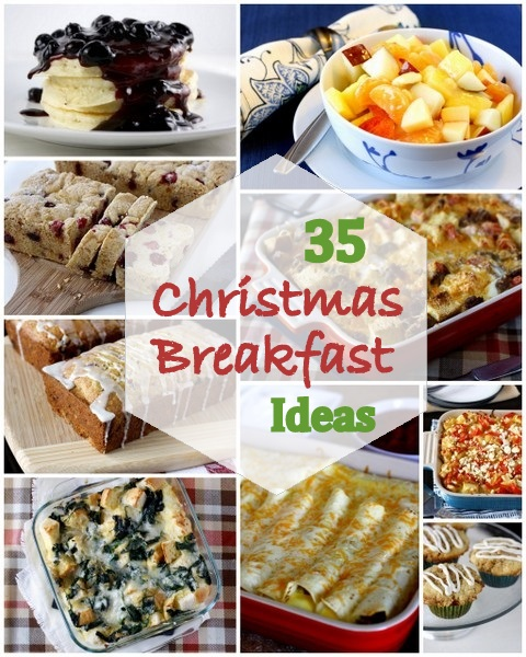 35 ideas for christmas morning breakfast or brunch
