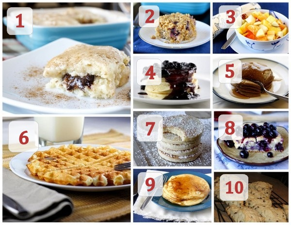 Other Ideas for Christmas Morning Breakfast