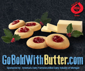 Go Bold with Butter Cookies