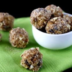 Peanut Butter Granola Bites