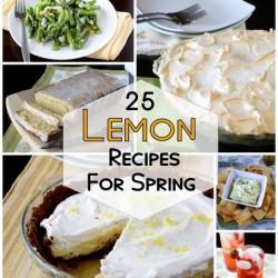 Lemon Recipes for Spring