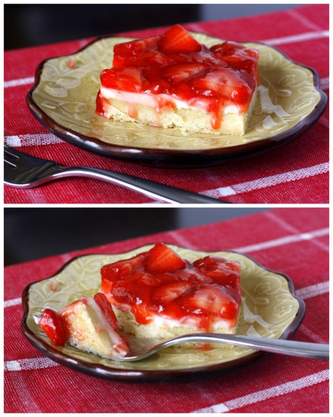 Strawberries and Cream Dessert Bars