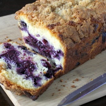 Blueberry Streusel Bread