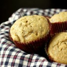 Whole Wheat Banana Maple Muffins