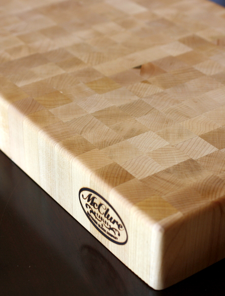 McClure Cutting Board Giveaway