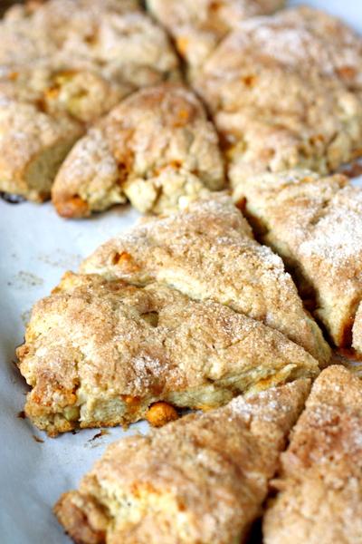 Fresh Apple Cinnamon Scones | What Megan's Making