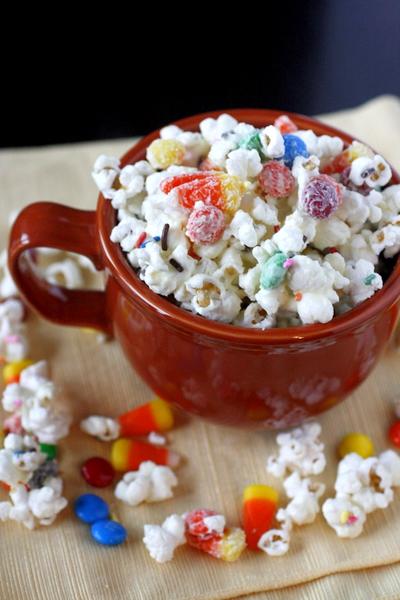 Fall Party Popcorn