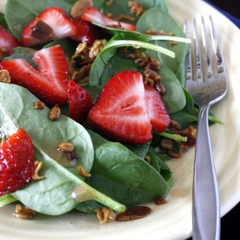 Strawberry Ramen Salad