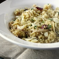 Chicken Couscous with Dried Fruit