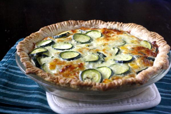 Cheesy Zucchini Quiche