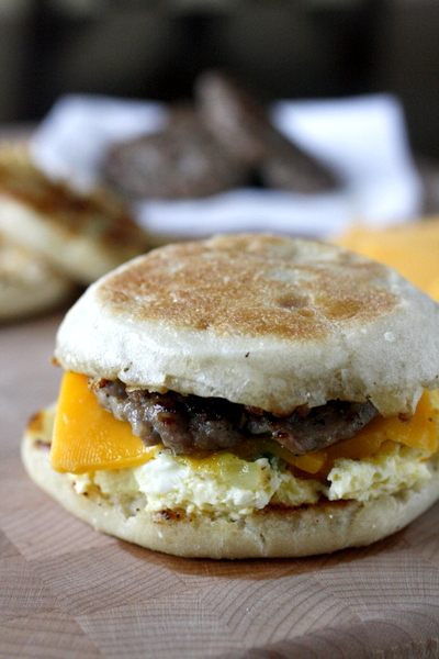 Freezer Friendly Egg Sandwiches