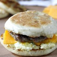 Freezer Friendly Egg Sandwiches